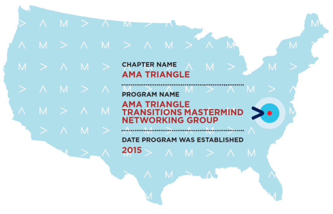 AMA Triangle on USA map