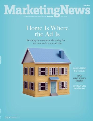 Marketing News Quarterly Fall 2020 cover