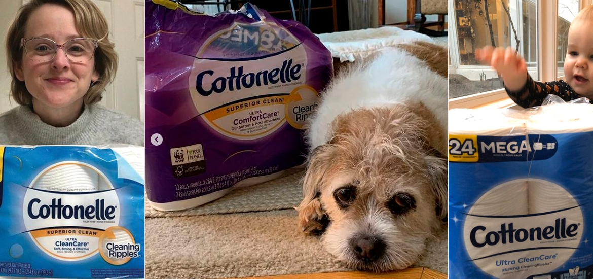 Cottonelle toilet paper in crowdsourced content