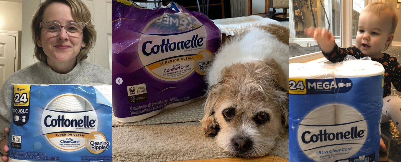Cottonelle Helps Consumers Roll with COVID-19 Challenges