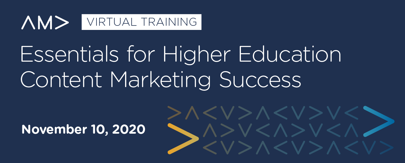 Resources: Essentials for Higher Education Content Marketing