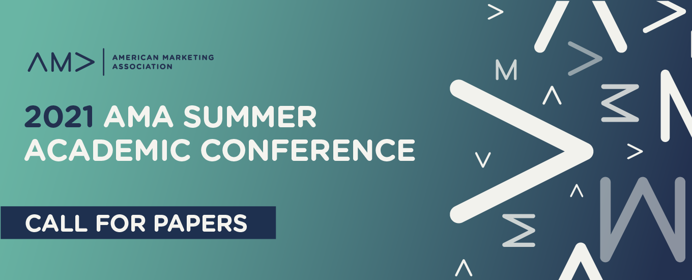 Call for Papers: 2021 AMA Summer Academic Conference