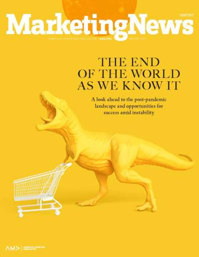 Marketing News Winter 2021 cover
