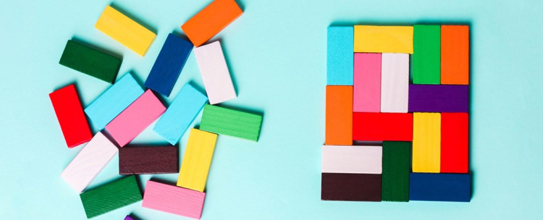 multicolored blocks