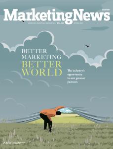 Marketing News Spring 2021 cover