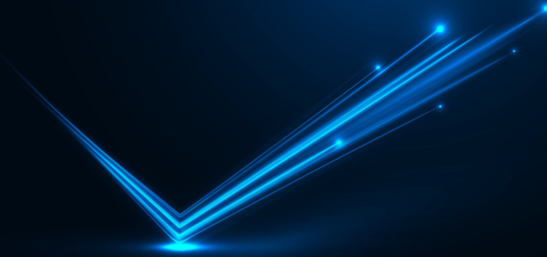 rebounding light beams